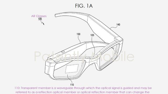 Samsung vraagt patent aan voor opvouwbare augmentedrealitybril