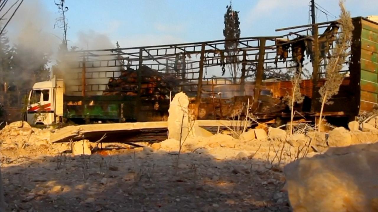 VN veroordeelt luchtaanval op hulpkonvooi Aleppo