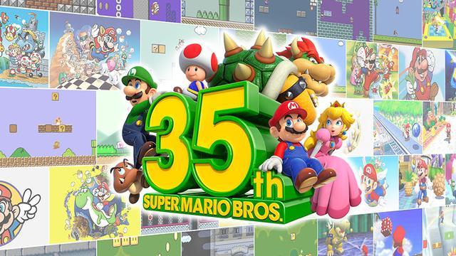Nintendo kondigt Mario-games voor Switch aan op jubileum Super Mario Bros.