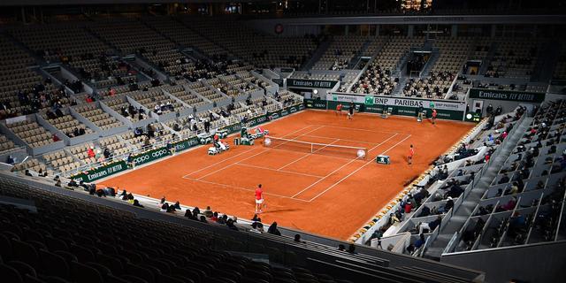 Roland Garros mag vanaf kwartfinales 5.000 toeschouwers per baan toelaten