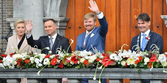 Koning en Poolse president bezoeken Breda ter ere van 75 jaar vrijheid