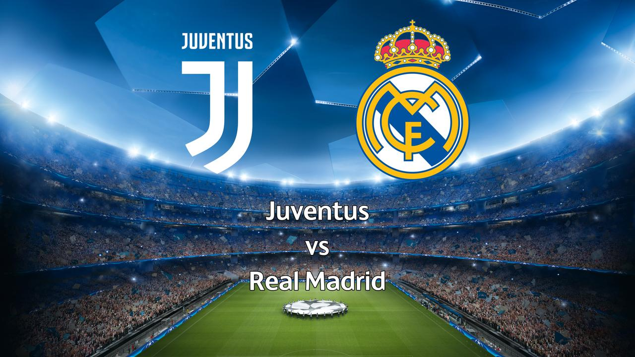 Live Champions League: Juventus-Real Madrid