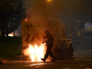 Aanhoudende rellen in Noord-Ierland door spanningen na Brexit