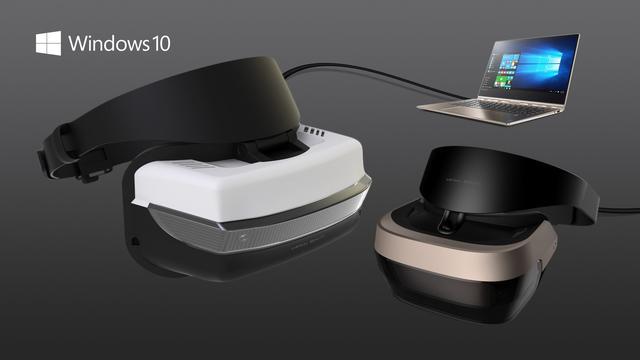 Windows-brillen krijgen ondersteuning voor VR-games uit Steam