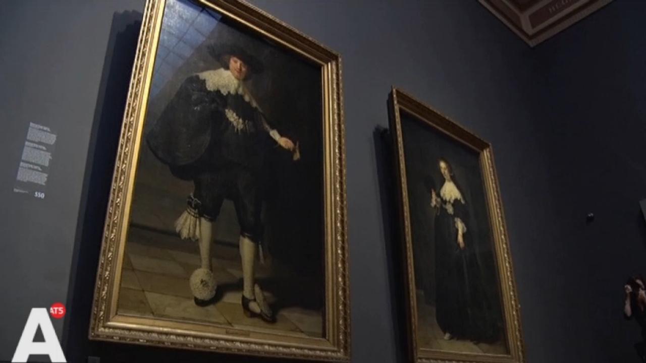 Marten en Oopjen in het Rijksmuseum