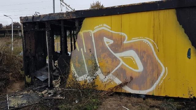 Dodelijk slachtoffer uitgebrande bouwkeet in Eindhoven man van 39