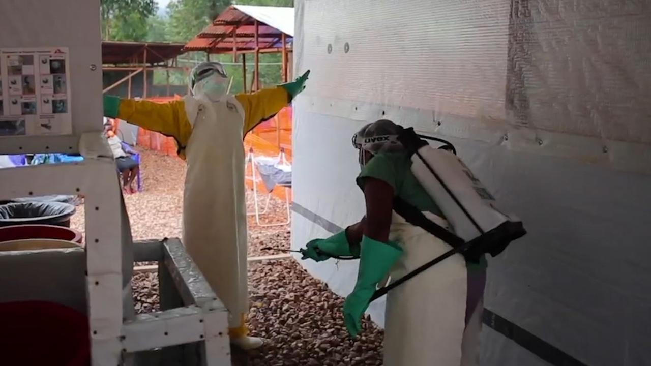 Zo bestrijden artsen ebola in Congo
