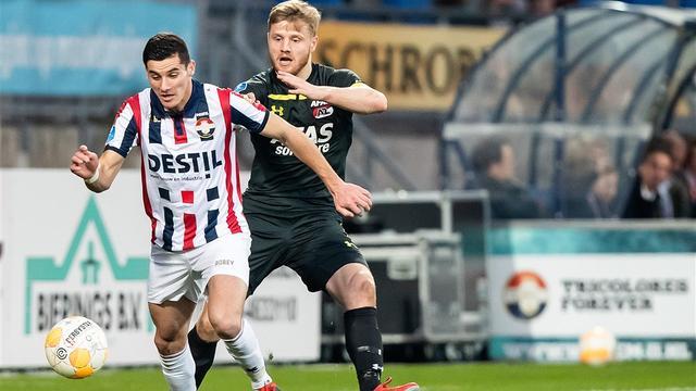 Willem II zonder zieke Vrousai in halve finale beker, AZ ongewijzigd
