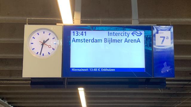 NS zet meer en langere treinen in van en naar Bijlmer ArenA