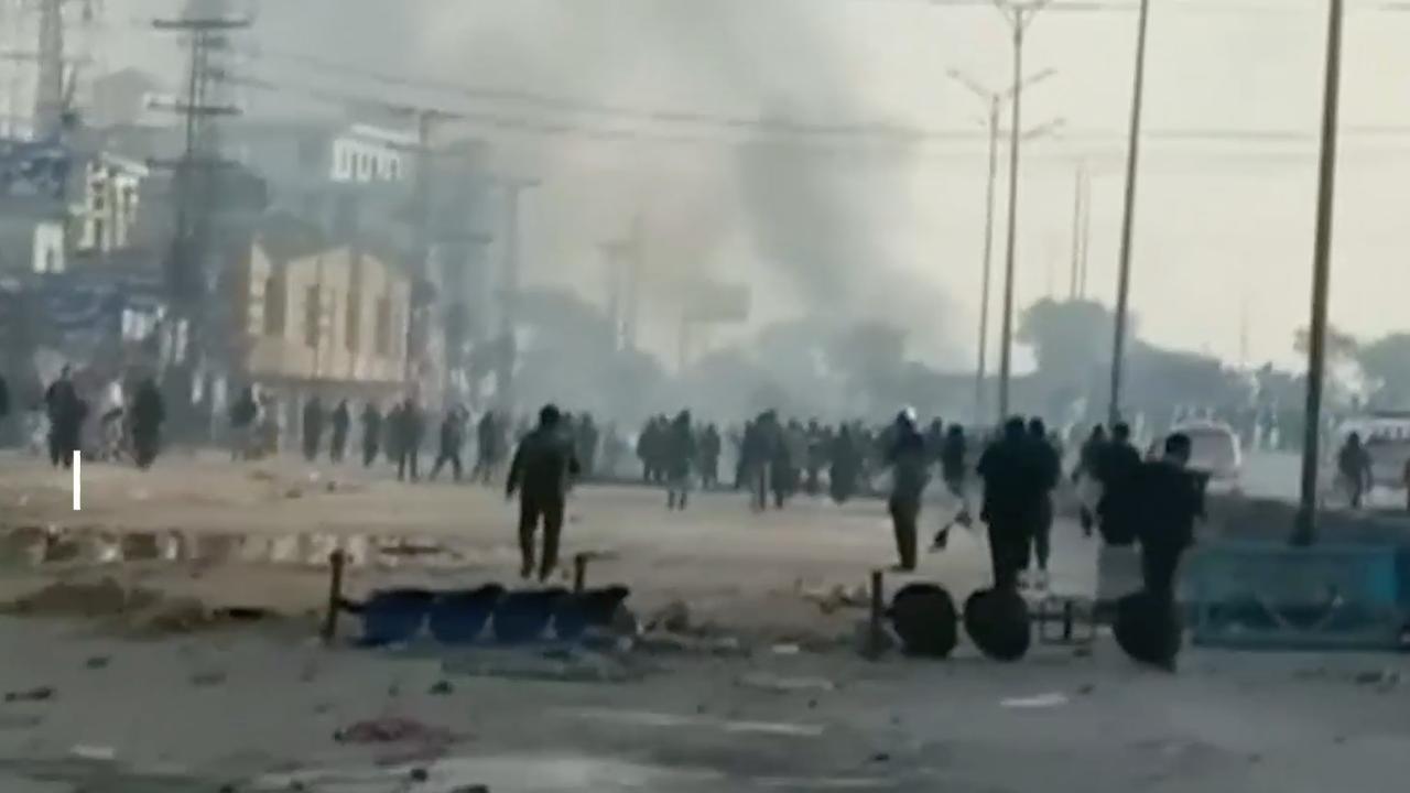 Politie Pakistan verdrijft betogers na wekenlang protest