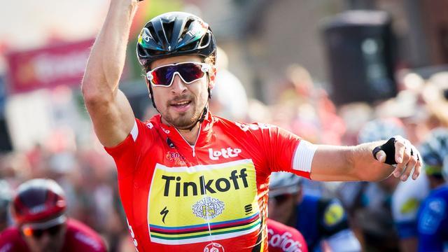 Sagan sprint naar tweede etappezege en leiding in Eneco Tour