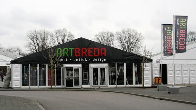 Burgemeester Depla bij opening derde editie Art Breda