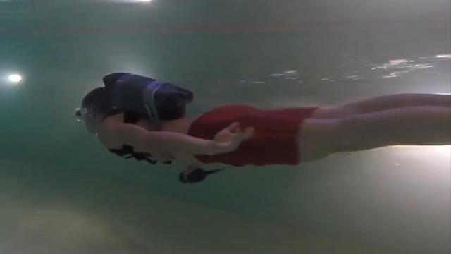 Jetpack uit 3D-printer kan onder water 13 kilometer per uur halen