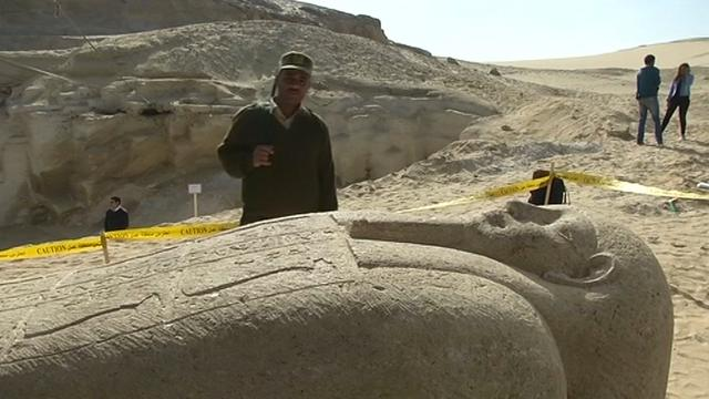 Archeologen leggen necropolis bloot in Egypte