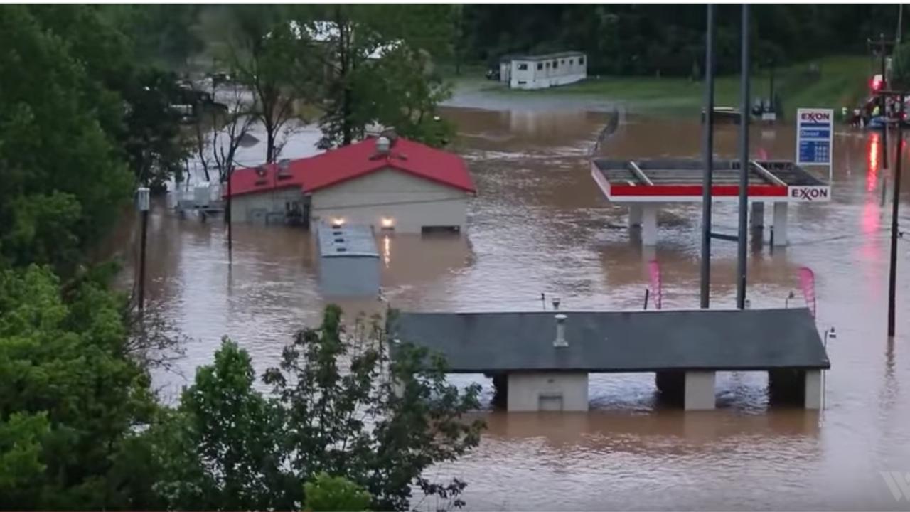 Doden door overstromingen in West Virginia