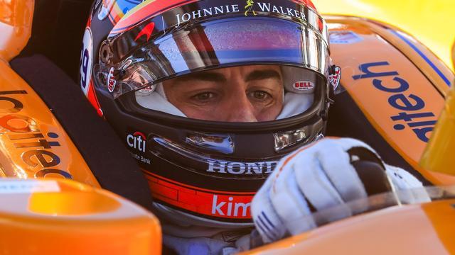 Alonso start van vijfde plek bij debuut in Indy 500
