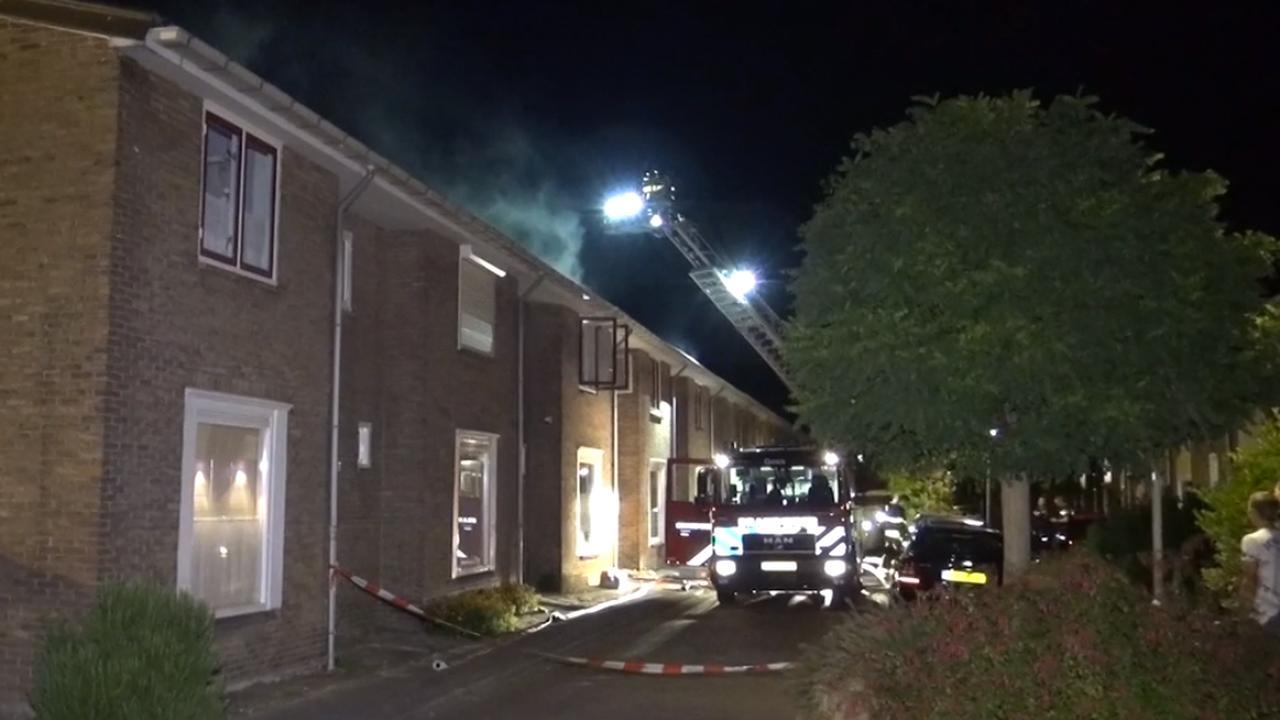 Twee huizen verwoest door brand Goes