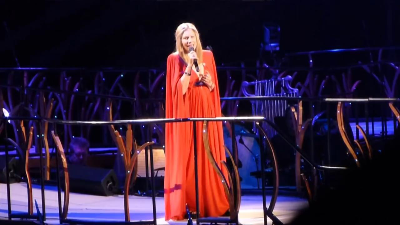 Barbra Streisand in 2013 in Amsterdam
