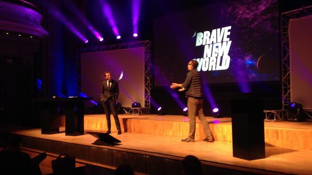 Brave New World blijft in Leiden
