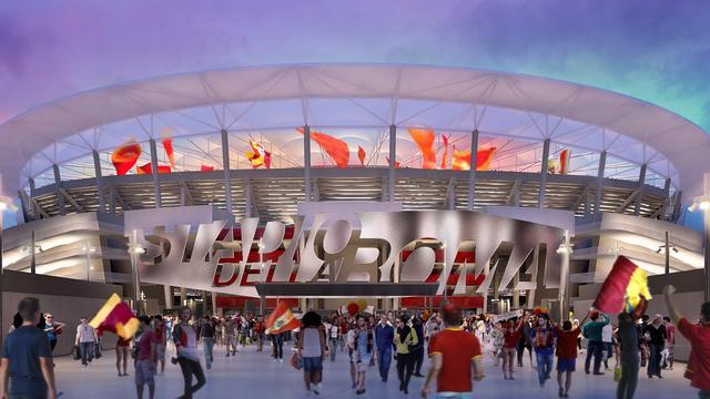 AS Roma krijgt na jaren groen licht voor bouw nieuw stadion