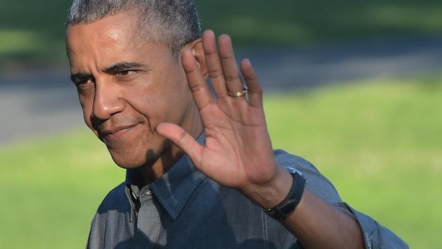 Barack Obama neemt dochters mee op uitje naar New York