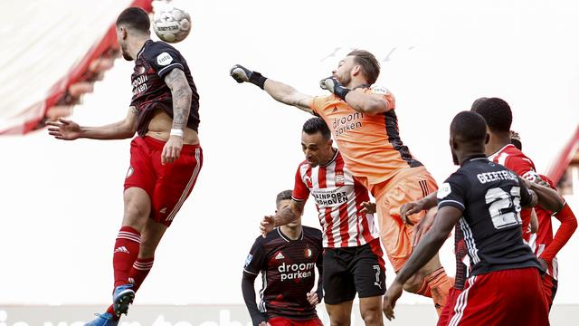 PSV had na rust nog de beste kansen op de winnende treffer.