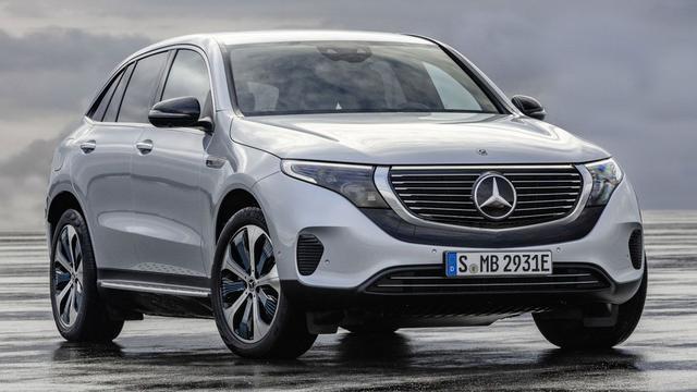 Elektrische Mercedes-Benz EQC kost ruim 80.000 euro