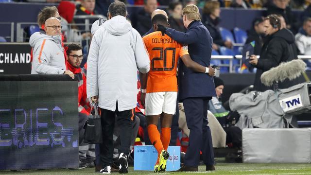 Oranje-debutant Dilrosun tot winterstop uitgeschakeld door spierblessure