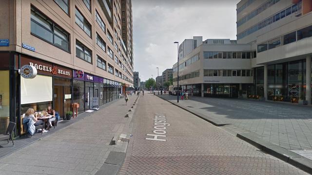 Wateroverlast bij Hoogstraat door geraakte leiding