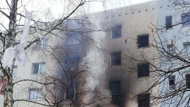 Eén dode en elf gewonden bij explosie in Duits appartementencomplex