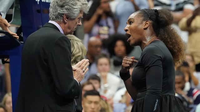 Serena Williams onderging therapie na woede-uitbarsting in US Open-finale