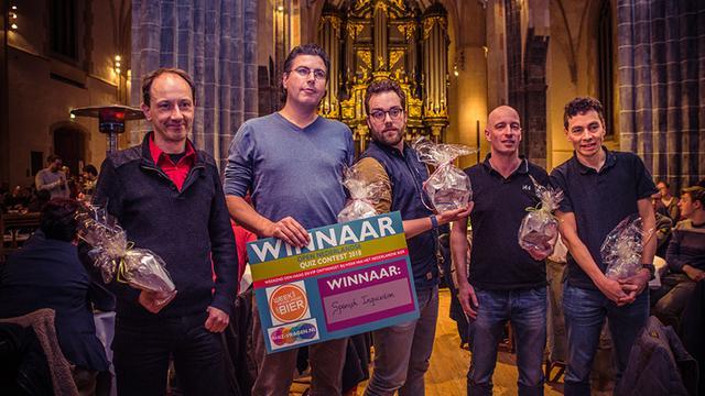 'Spanish Inquizition' wint voor vierde keer op rij Open Nederlandse Quiz Contest
