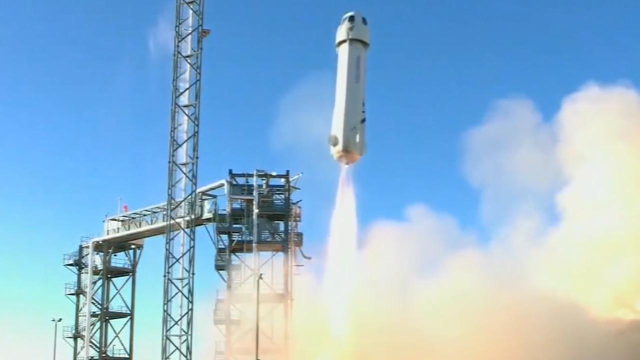 Raket voor ruimtetoerisme landt in Texas
