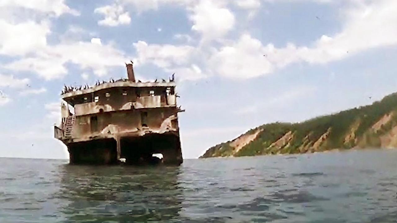 Kajakkers treffen scheepswrak aan in Lake Michigan