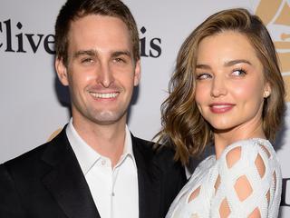 Eerste kind voor Australische met echtgenoot Evan Spiegel
