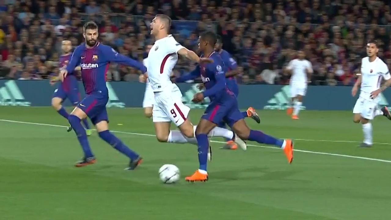 Makkelie weigert penalty te geven aan Roma