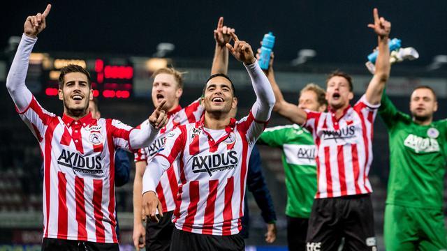 Sparta schakelt zwak PSV uit in tweede ronde KNVB-beker