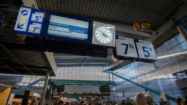 Veel vertraging tussen Utrecht en Amsterdam Centraal