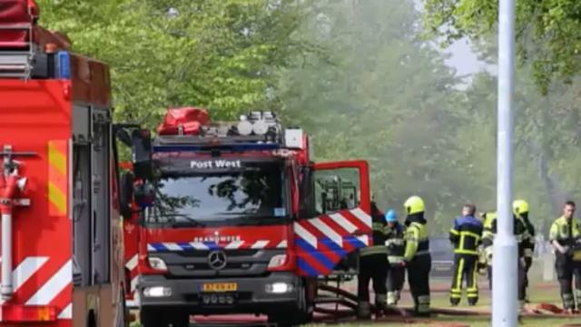 Brand in bedrijf Wijchen geblust