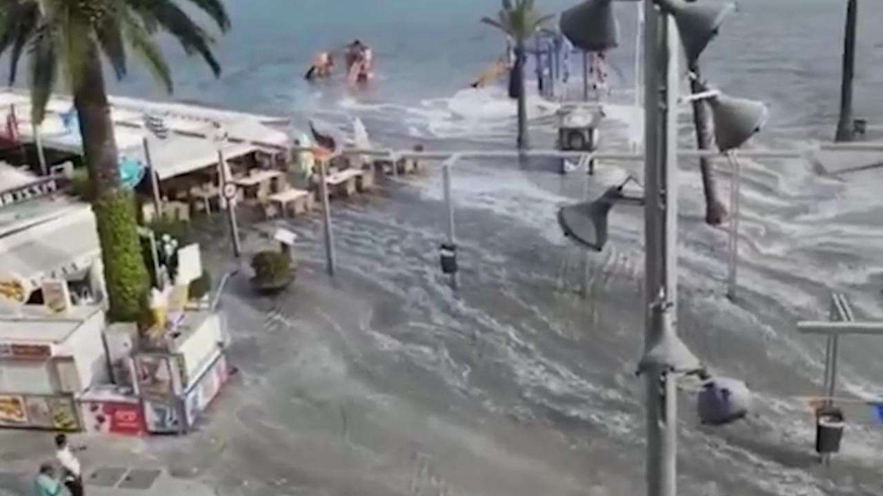 Majorca getroffen door mini-tsunami's
