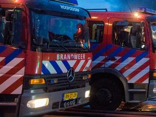 Brand rond 00.15 uur geblust