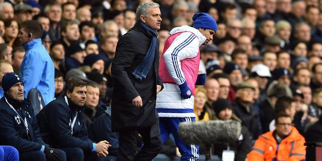 Chelsea-trainer Mourinho hecht weinig waarde aan gedrag Costa