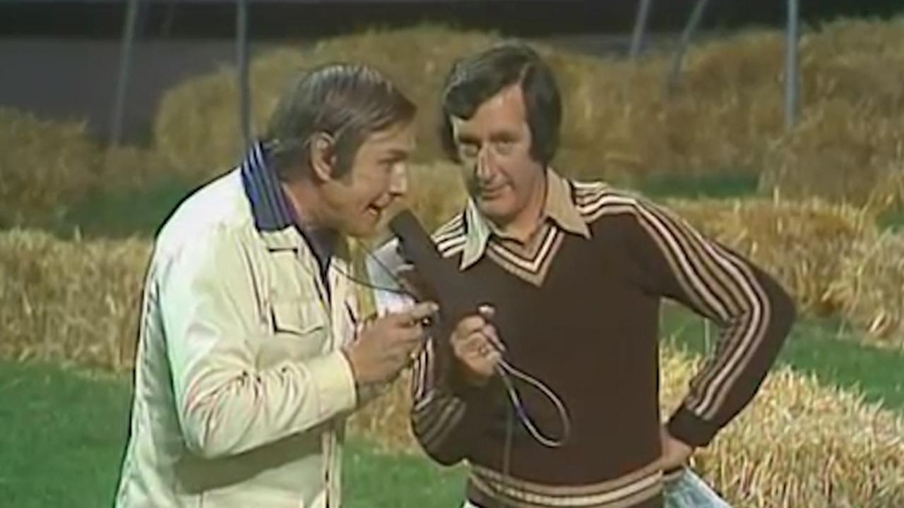 Dick Passchier presenteert Spel zonder grenzen in 1977