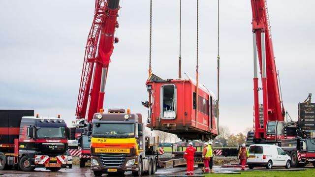 Burgemeester Winsum biedt grondeigenaar excuses aan na treinongeval