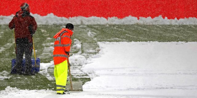 Ook Bundesliga-duel Bielefeld-Bremen afgelast wegens hevig winterweer