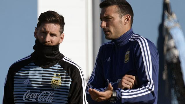 Argentijnse bondscoach heeft 'goed gevoel' over terugkeer Messi