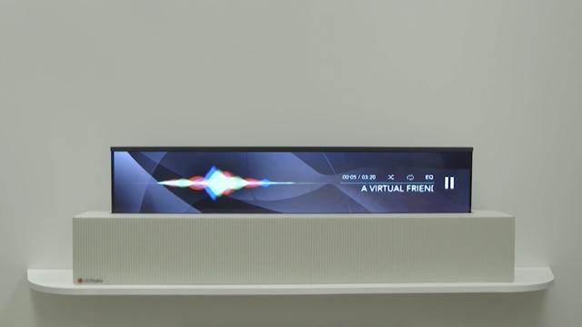 LG presenteert 65-inch automatisch oprolbaar tv-scherm