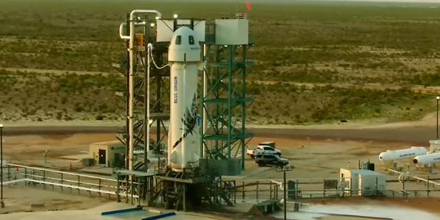 Blue Origin lanceert in oktober opnieuw toeristen naar de ruimte