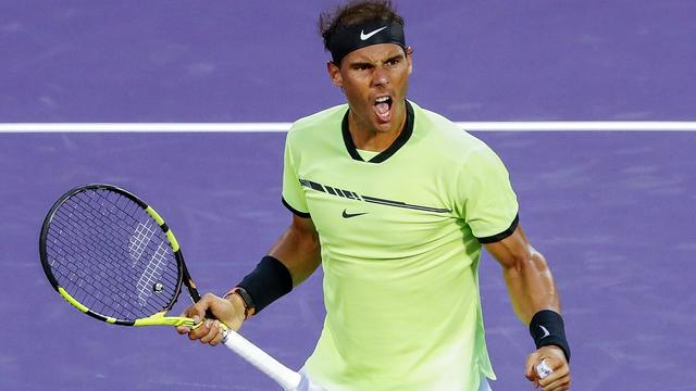 Nadal wint met moeite van Kohlschreiber in duizendste ATP-wedstrijd