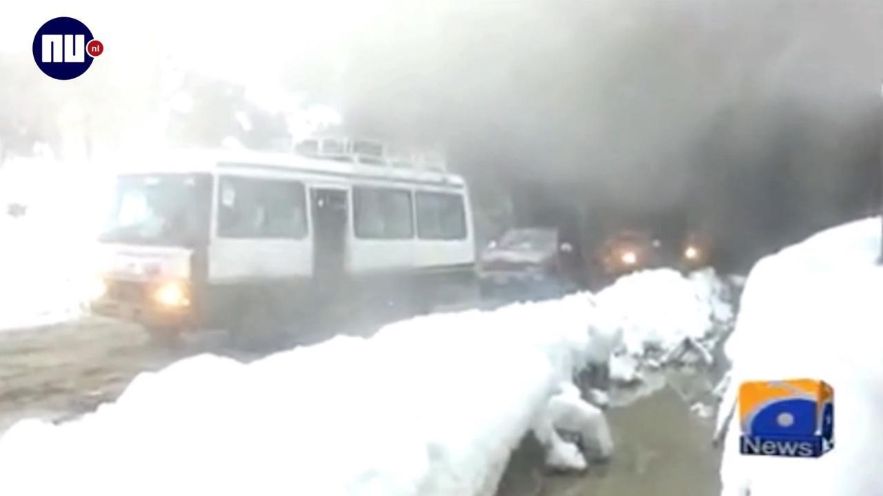 Doden in Pakistan door zwaar winterweer